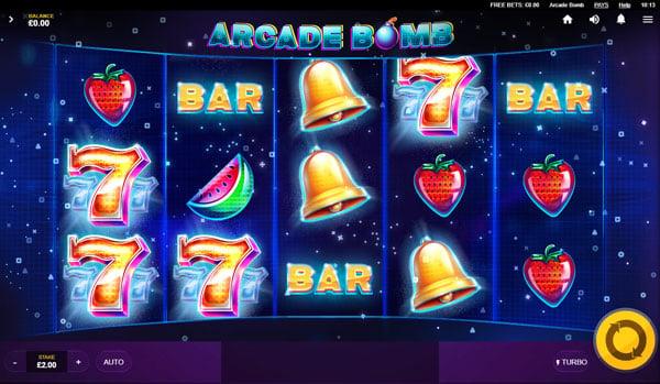 Arcade Bomb (Red Tiger)