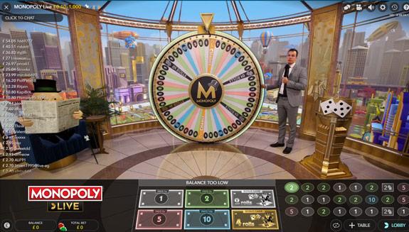 Monopoli Live Casino Show