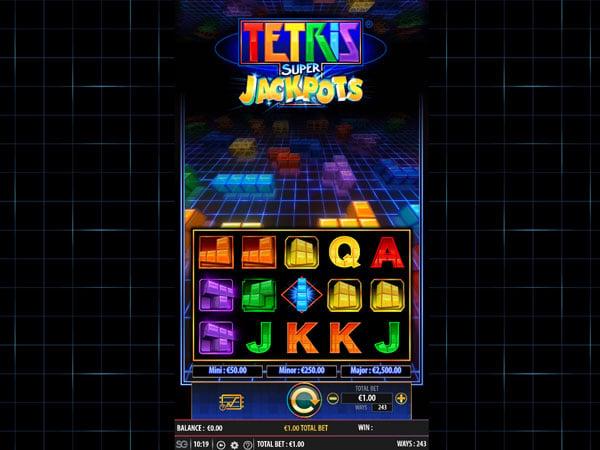 Tetris Super Jackpot (WMS)