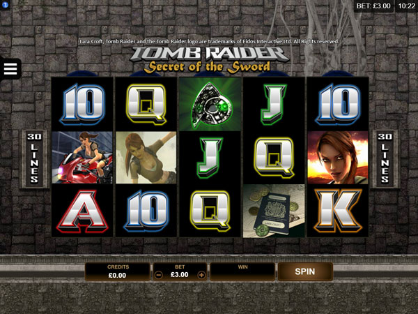 Tomb Raider (Microgaming)