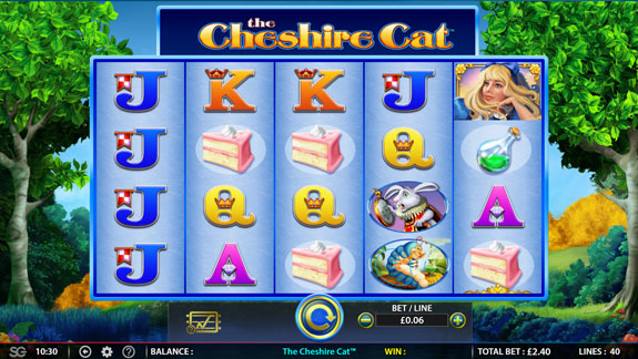 The Cheshire Cat slot by WMS
