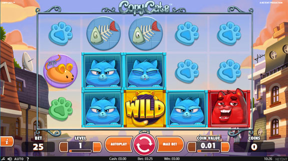 Copy Cats slot by Netent
