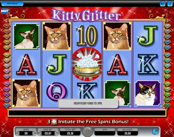 Kitty Glitter slot by IGT