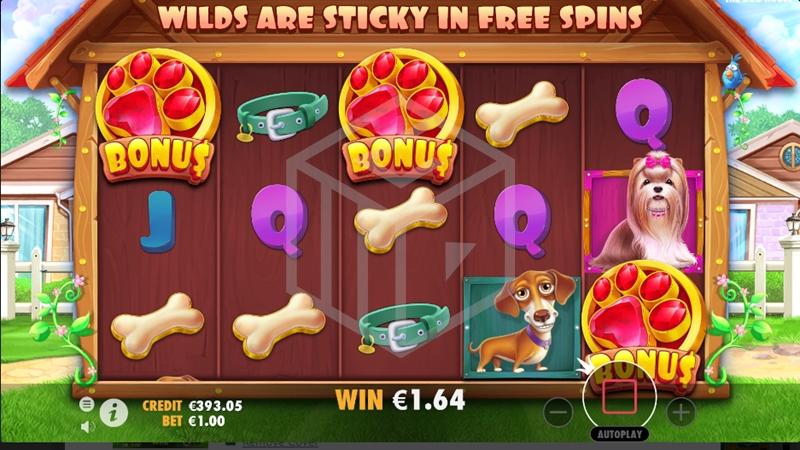 The Dog House slots bonus