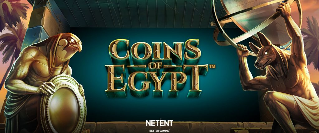 New Slot from NetEnt: Coins of Egypt