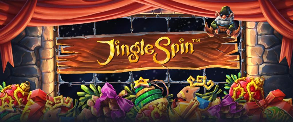 New slot from NetEnt: Jingle Spin