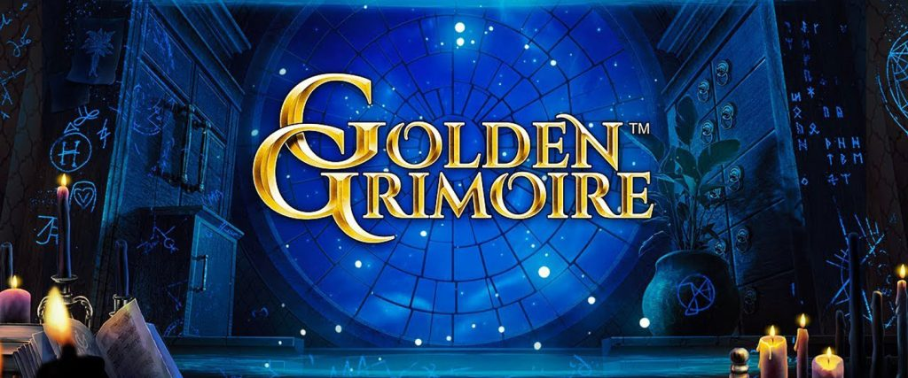 The Glimmering 'Golden Grimoire' is NetEnt's Latest Slot