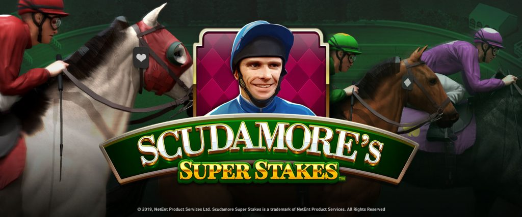 NetEnt Brings Horse Racing to Online Slots in Scudamore's Super Stakes