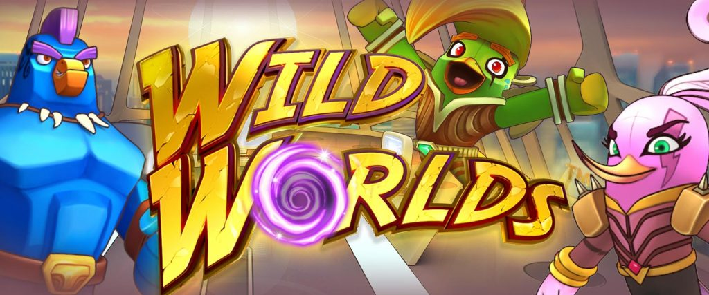 Play NetEnt's New Wild Worlds slot Today!