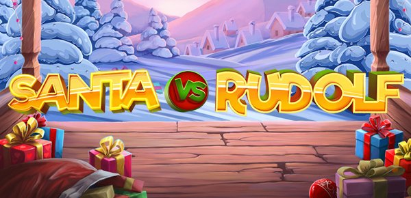 Ho Ho Ho! Go on a Christmas Adventure with New NetEnt Slot Santa vs Rudolf!
