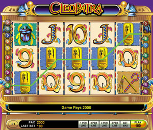 Cleopatra Video Slot by IGT