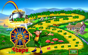 Road to Riches feature of Rainbow Riches