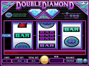 Double Diamond Classic Slot by IGT