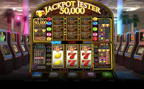 classic slot machine jackpot jest is a typical pub slot