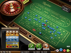 Roulette Table Game from Netent
