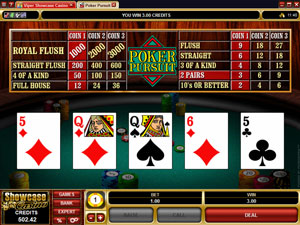 Poker Table Game from Microgaming