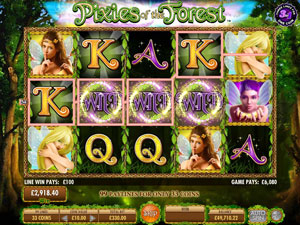 How to play Pixies of the Forest Slot