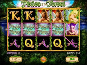 Pixies of the Forest Free Spins Feature
