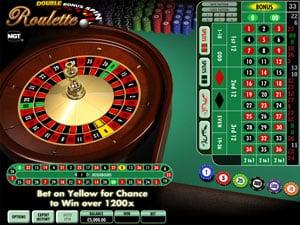 Double Bonus Spin Roulette by IGT