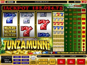 Tunzamunni Classic Slot by Microgaming
