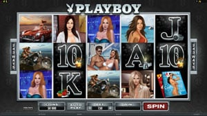 Playboy Video Slot by Microgaming