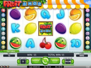 Fruit Shop by Netent