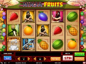 Ninja Fruits by Play N Go