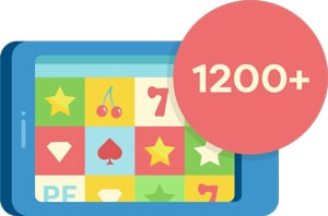 1200 Mobile Casino Games Online