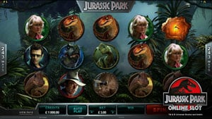 Jurassic Park Video Slot by Microgaming
