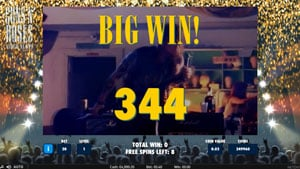 Biw Win during encore free spins!