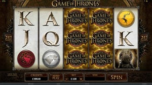 Game of Thrones Slot 15 lines