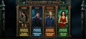 The Chamber of Spins in Immortal Romance Slot