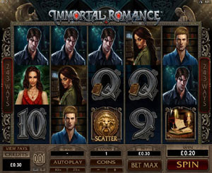 How to play Immortal Romance Slot