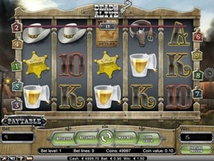 How to play Dead or Alive Slot
