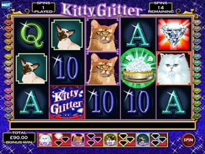 Kitty Glitter Free Spins
