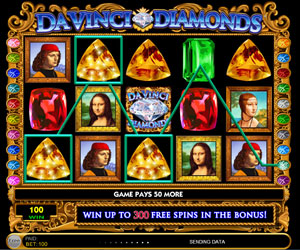 Da Vinci Diamonds Slot by IGT