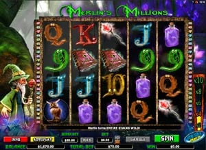 How to wint at Merlin's Millions Slot