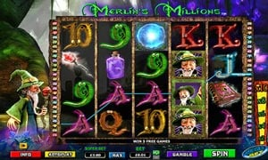 How to play Merlin's Millions Slot