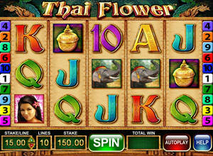 How to play Thai Flower Slot