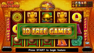 88 Fortunes free spins