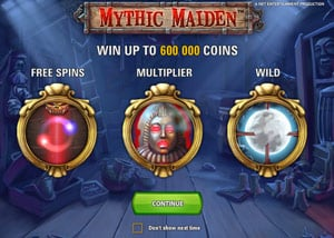 Why play Mythic Maiden Slot