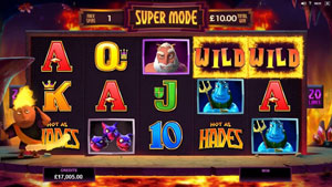 Hot as Hades slot free spins