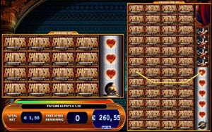 Spartacus slot free spins in Gladiator of Rome