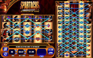 How to play Spartacus slot