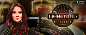 Live Lightning Roulette at PlayFrank Online Casino