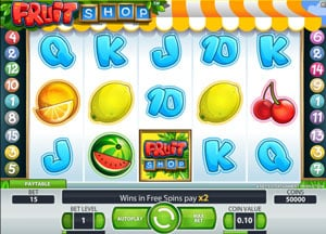 How to play Fruit Shop Slots