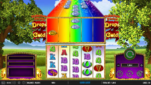 How to play Rainbow Riches Drops of Gold Slot Game