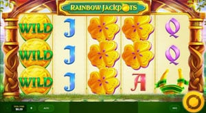 How to play Rainbow Jackpots slot machine