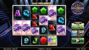 Megaways in Who wants to be a Millionaire Slot