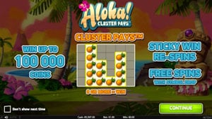 How to play Aloha Slot